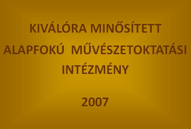 2007-ben kiválóra minősített tehetségpont